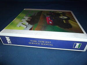 Tym T300 T330 Hst Tractor Service Shop Repair Manual Book