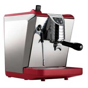 Nuova Simonelli Oscar Ii Pourover Espresso Machine Red authorized Seller