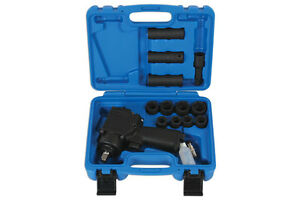 Genuine Laser Tools 6487 Mini Air Impact Wrench Set 1 2 D