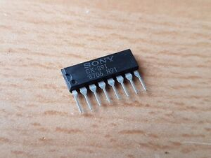 Cx 891 Sony Integrated Circuits Sip8 lot Of 5 Pcs