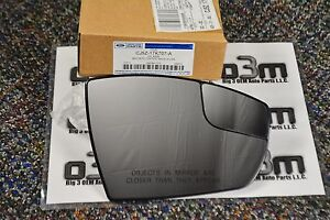 2013 2014 Ford Escape Right Hand Passenger Side Mirror Glass New Oem Cj5z17k707a