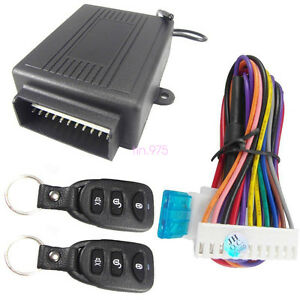 Door Lock Locking Vehicle Keyless Entry System Universal Car Remote Central Kit