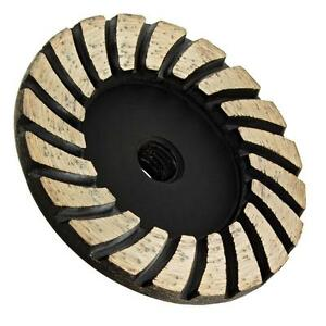 4 Inch Diamond Concrete Stone Grinding Wheel Angle Grinder Tool Attachment New