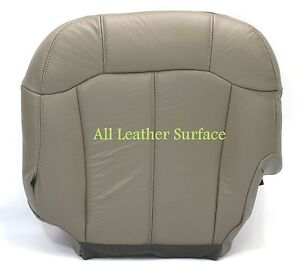 99 2000 2001 2002 Chevrolet Suburban Tahoe Driver Bottom Replacement Seat Cover
