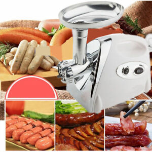 2800w Electric Meat Grinder Home Commercial Stainless Steel Sausage Stuffer Us
