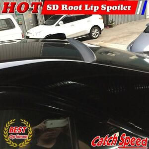 Flat Black Sd Type Rear Roof Spoiler For Honda Civic Insight Hatchback 2010 2014