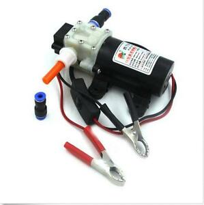 New Electric 24v Oil Pump Diesel Fuel Oil Engine Oil Extractor Transfer Pump