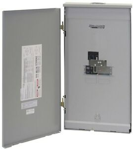 Outdoor Transfer Switch Panel 200 Amp Main Breaker Load Center Service Entrance