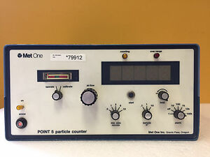Met One Point 5 Pn P5d 1 1 0 1 To 10 Cu Ft Sample Size Led Particle Counter