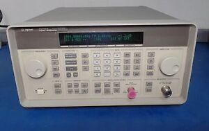 Hp agilent 8648b Synthesized Rf Signal Generator 9 Khz To 2000 Mhz