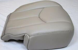 2003 2004 05 2006 Chevy Tahoe Suburban Driver Leather Seat Cover Light Tan 522
