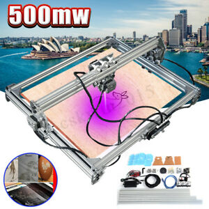 65x50cm Laser Engraving Cutting Cutter Marking Machine Printer Logo Kit 500mw