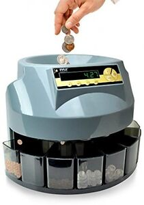 Automatic Coin Counter Sorter Machine Digital Display Screen Office Supplies