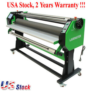 Usa New 67 Stand Full auto Single Side Wide Format Laminator Laminating Machine