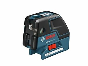 Bosch Gcl 25 Self Leveling 5 point Alignment Cross line Laser