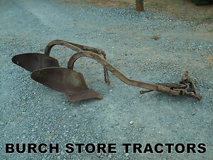 Official Ih Farmall Drawbar Double Bottom Turning Plow 140 130 Super A 100