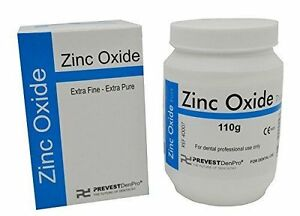 10x Zinc Oxide Powder By Prevest Denpro
