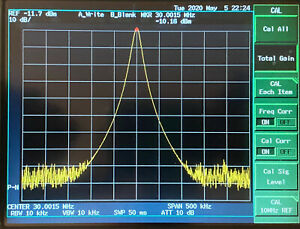 Advantest R3465 8ghz Modulation Spectrum Analyzer Opt 61 73