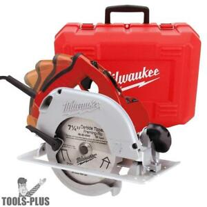 Milwaukee 6394 21 7 1 4 Circular Saw With Quik lok Cord And Brake New