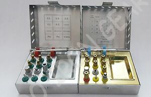 Bone Compression Kit Surgical Sinus Lift Expander Dental Implant 2 Kits