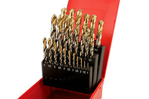 Genuine Dormer A002 Tin Coated Metric Drill Set 204 25pc Connect 32021