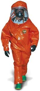 Kappler Z5h552 4xl Level A Fully Encapsulated Suit Anti fog No Sales Tax