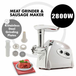 2800watt Electric Business home Meat Grinder Food Mincer Sausage Maker 110v