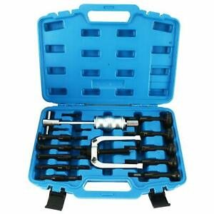 16pc Durable Blind Hole Pilot Bearing Puller Internal Extractor Removal Tool Set