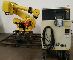 Fanuc R2000ib 210kg Robot With R30ia Controller tested Low Hours Complete