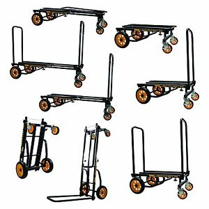 Heavy Duty Multi 8 in 1 Utility Cart Hand Truck Platform Dolly 500 Lb Capacity
