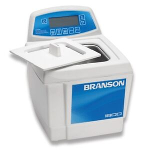 Branson Cpx1800h 0 5 Gal Ultrasonic Cleaner Digital Timer Heater Degas Temp Mon