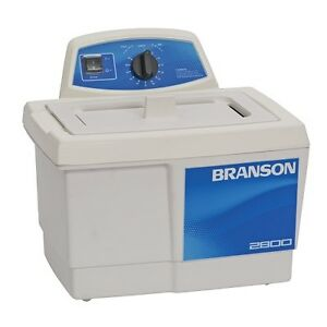 Branson M2800h 0 75g Ultrasonic Cleaner W Mechanical Timer Heater Cpx 952 217r