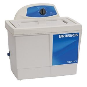 Branson M3800 1 5 Gallon Ultrasonic Cleaner W Mechanical Timer Cpx 952 316r