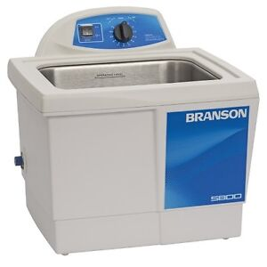 Branson M5800h 2 5g Ultrasonic Cleaner W Mechanical Timer Heater Cpx 952 517r