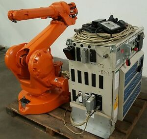 Abb Irb 2400l Robot With S4c Plus M2000 Controller Low Hours Tested