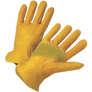 3 Pack Protective Gear Men s Extra Large Grain Cowhide Leather Work Glove