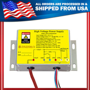 High Voltage Power Supply Dc dc Conversion 8kv 1ma Shutdown Function From Usa