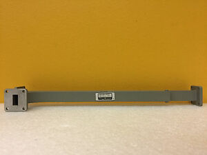 Hp Agilent P752c wr 62 12 4 To 18 Ghz Waveguide Directional Coupler Tested