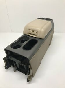 2004 2008 Ford F150 Complete Center Console Lariat Tan Leather
