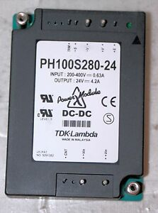 Dc dc Power Supply Module Tdk lambda Ph100s28024