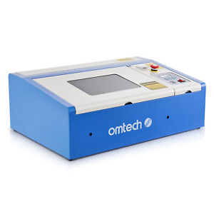 Omtech 40w Co2 Laser Engraving Cutting Machine Engraver Cutter 12x8 In K40