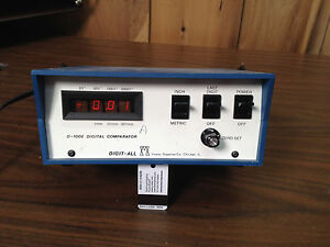 Foster Supplies Co Digital Comparator Digit all D 1002