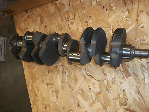 Engine Crankshaft 3932442 Chevrolet 350 Turned And Ready To Go