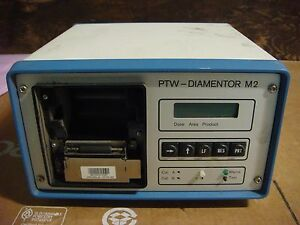 Ptw diamentor M2 X ray Power Supply Used