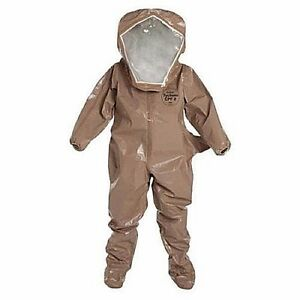 Dupont C3526t Cpf3 Hazmat Suit In Stock Size Small Free Shipping No Tax