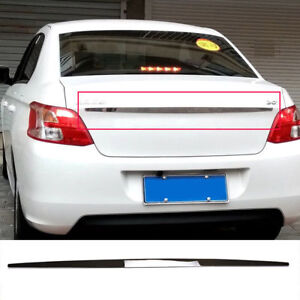 Fit For Peugeot 301 Chrome Rear Trunk Tail Gate Door Handle Cover Trim Molding