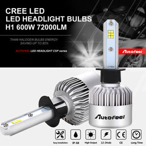 34560lm 288w H1 Cree Led Headlight Kit Low Beam White Bulbs 6000k High Power 2x
