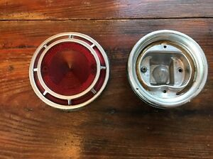 Vintage 62 Chevy Chevrolet Bel Air Biscayne Lens Taillight Housings