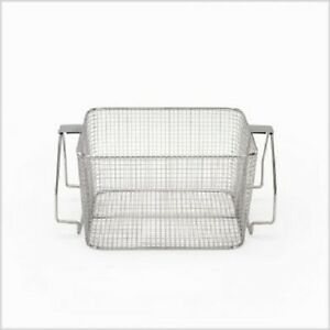 Crest Mesh Basket Stainless Steel W Handle For 1100 Series Ultrasonic Cleaner