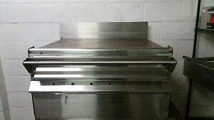 Wolf Eme 37 Flat Griddle Grill 208 Volt 37x28 Griddle Tested